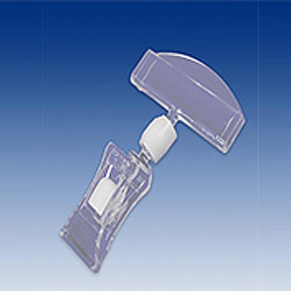 Stipaljka za cene sa malom stipalkom i velikim nosacem za karticu, bez vrata