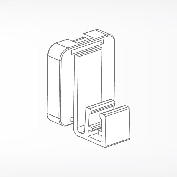 Magnetni nosac za plasticni ram, frontalni