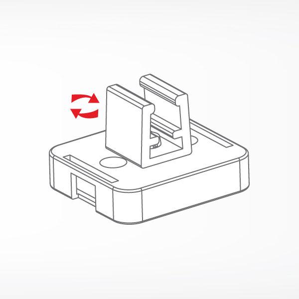 Magnetni nosac za plasticni ram upravni