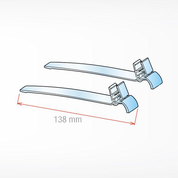 Nogice za plasticni ram za obavestenja