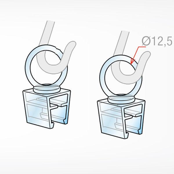 O nosac za kacenje plasticnih ramova