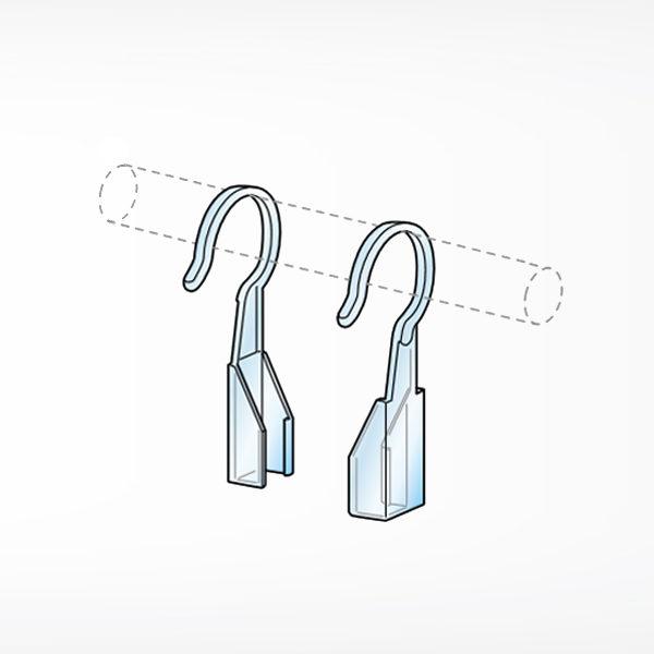 S nosaci za kacenje plasticnih ramova