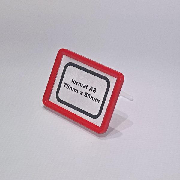 Drzac-za-cene-A8-formata-crveni-sa-podupiracem