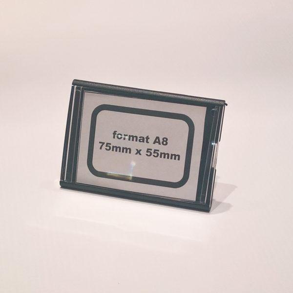 Kaseta-za-cene-format-A8-crna-sa-podupiracem