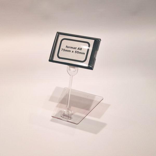 Kaseta-za-cene-format-A8-crna-sa-pokretnim-postoljem-visine-100mm